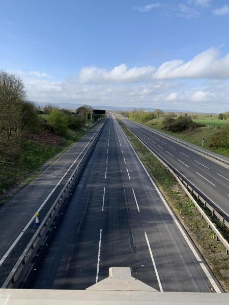 ALL CLEAR: The M5 southbound