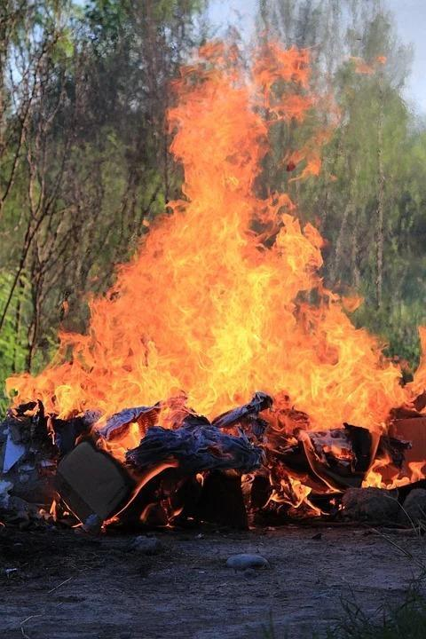 PLEASE DON'T: Fire bosses are pleading with people not to light bonfires