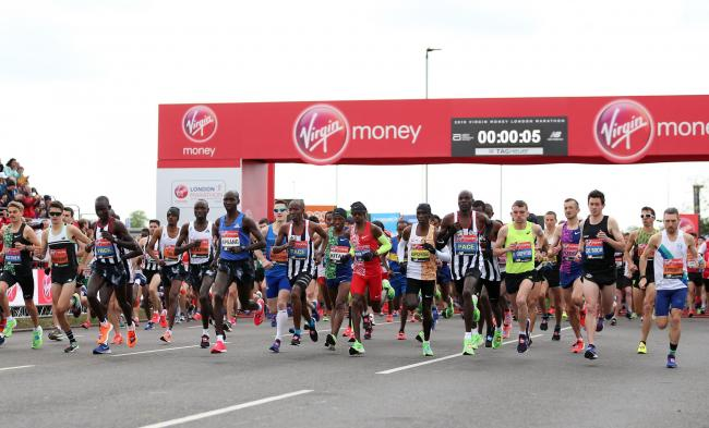 POSTPONED: The London Marathon has been pushed back to October this year. Pic: PA Wire