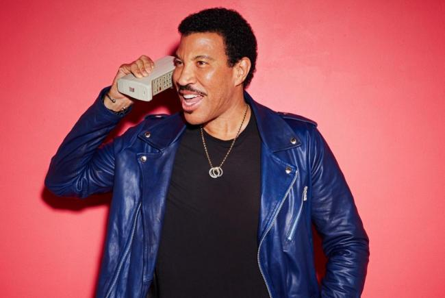 GUESS I'M ON MY WAY: Lionel Richie will be coming to the South West next year