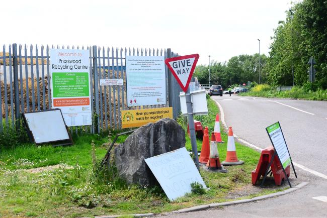 OPEN: Priorswood Recycling Centre in Taunton