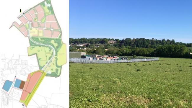 635 houses and school site given key road approval