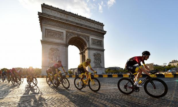 This is The West Country: Tour de France. Picture: PA Wire