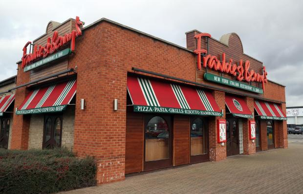 This is The West Country: A Frankie & Benny's branch. Picture: PA Wire