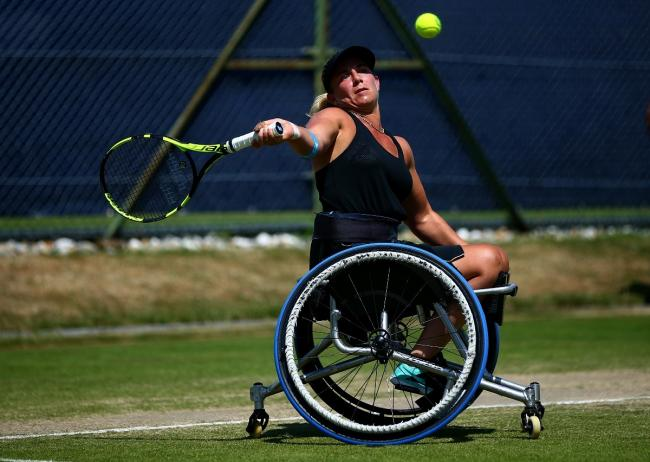 LOOKING AHEAD: Tennis star Lucy Shuker. Pic: Tennis Foundation.