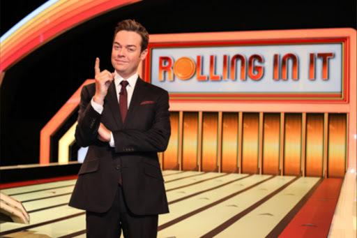 Stephen Mulhern hosts Rolling In It.       Picture: Pete Dadds  SYCO Entertainment