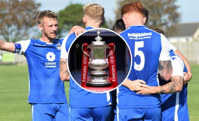 Helston Athletic will play in the FA Cup for the first time this season