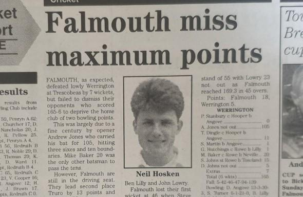 Falmouth miss maximum points