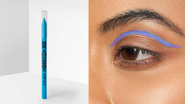 This is The West Country: Add some flair to your eye look with the L.A. Girl Shockwave Neon Liner. Credit: L.A. Girl