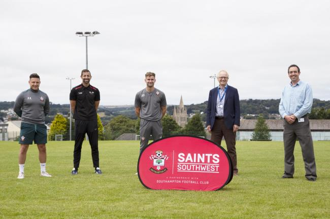 Truro School has linked up with an official club partner of Southampton FC