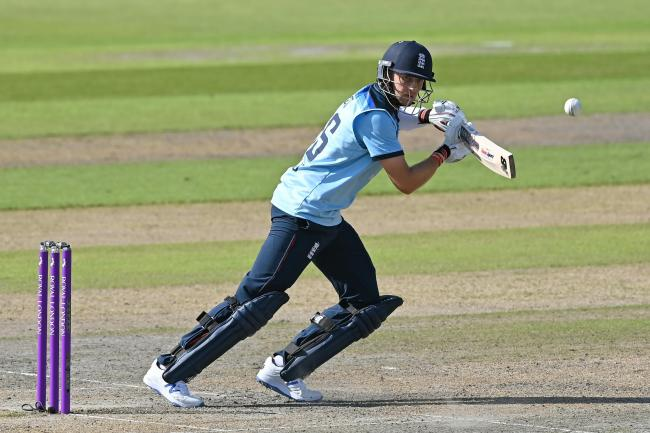 Joe Root hit a match-winning knock as England warmed up in Cape Town