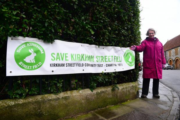 This is The West Country: Judith Hurley ; Somerton ; save Kirkham Street Field