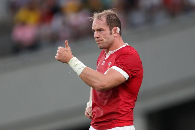 Wales captain Alun Wyn Jones is recovering from a knee injury