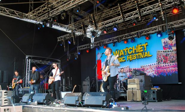 This is The West Country: UNDER PRESSURE: Smaller festivals like Watchet, held in Somerset. PICTURE: Paul Jones