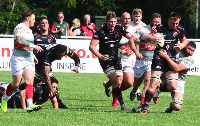 LONG WAIT: Taunton Titans face a full season without competitive rugby (pic: Steve Richardson)