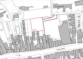 This is The West Country: PLANS: For the rear of Fore Street in Chard. Pic: Trevor J Spurway Architects