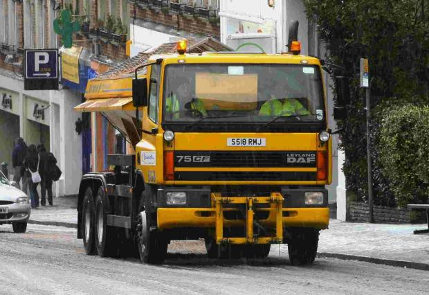 A39 re-opens after snow is cleared