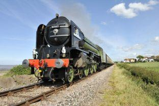 Tornado returns to West Somerset Railway