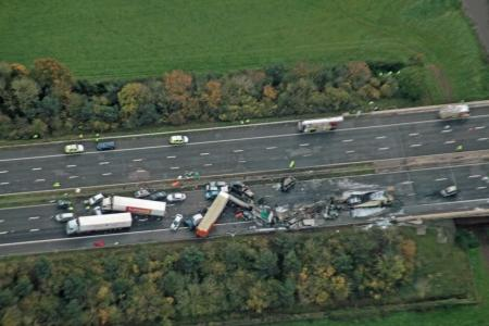 This is The West Country: Photos of the Taunton M5 crash tragedy