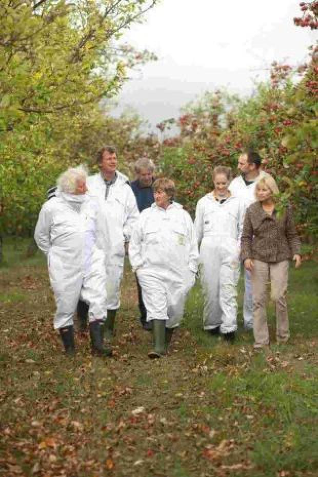 STEWLEY Orchard near Ashill has been praised for being eco-friendly.