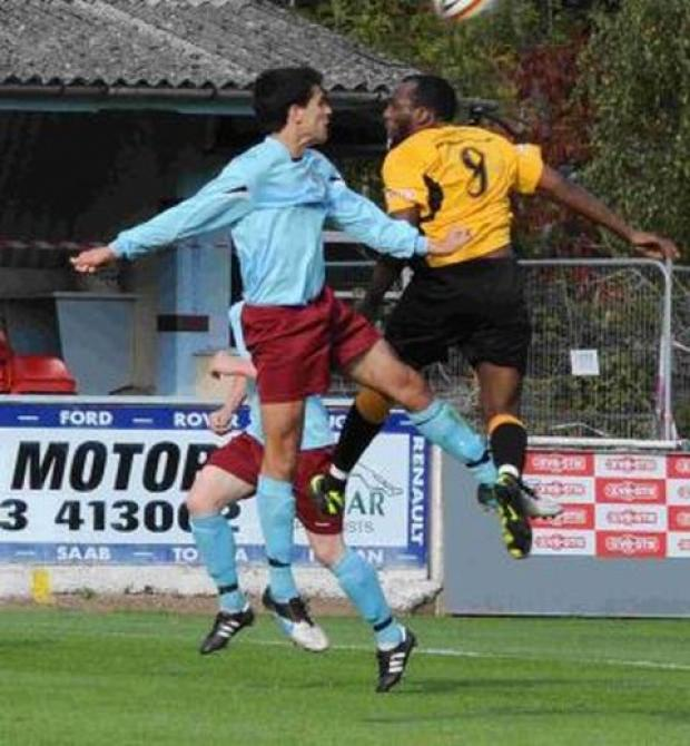 FOOTBALL: Taunton Town lose 1-0 at home