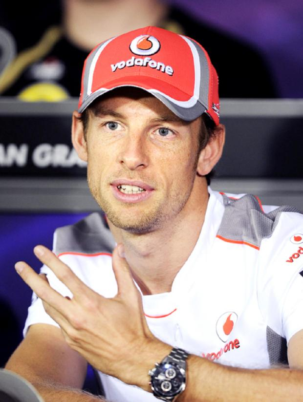 F1 star Jenson Button.