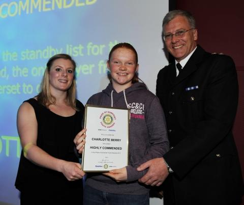 This is The West Country: Photos from the Pride of Somerset Youth Awards presentation ceremony 2012 at Somerset College.