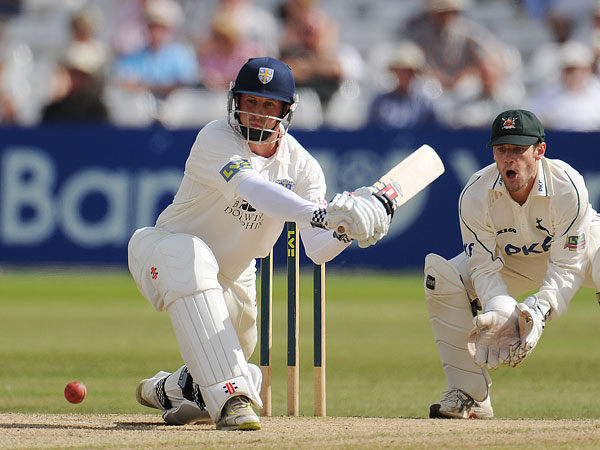 IAN Blackwell scored 35 at the top of the order