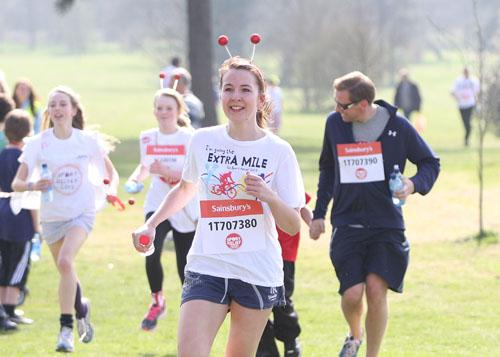 Run a mile for Sport Relief at St Matthew's Field