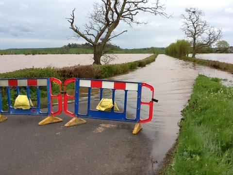 Tourism bosses are reminding people that not all of Somerset is under water.