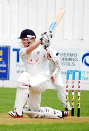 CHRIS Gange - scored 31 with the bat