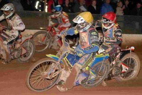 Christmas speedway meeting at the Oaktree Arena