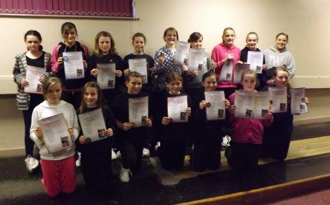 Sydenham netballers scoop skills awards