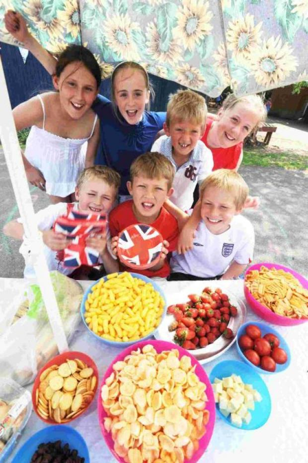Stawley School pupils embrace Diamond Jubilee spirit