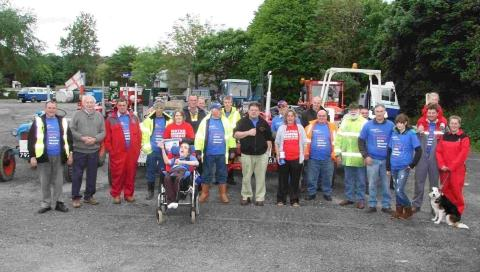 Helston and Lizard charity tractor run
