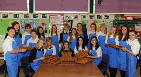 School's cakes and biscuits for Afghanistan troops