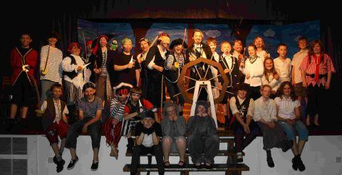 Treasure Island spectacular in Dulverton