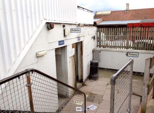 MINEHEAD town centre's public toilets - known as The Carousel. PHOTO: Steve Guscott