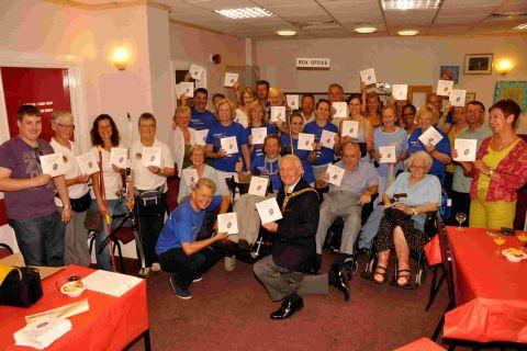 Burnham archer hoping for bullseye with motor neurone book