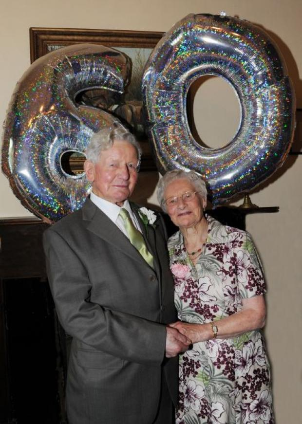 Anne and Maurice celebrate Diamond year at Cannington