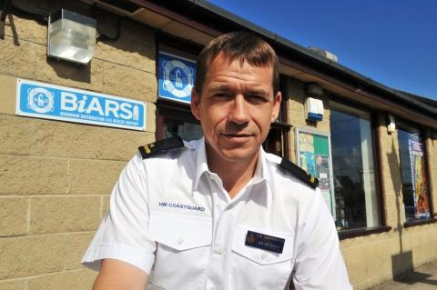 Ian Jefferies, business and tourism manager for Burnham Information and Rescue Support (BIARS)