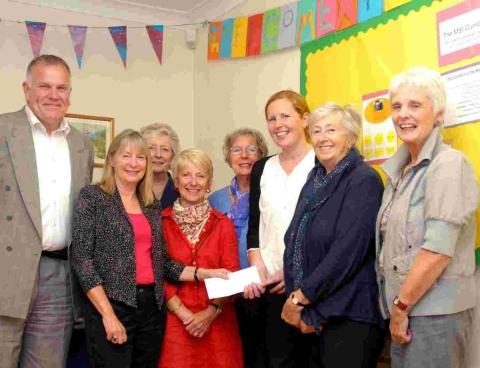 Helston and Lizard Inner Wheel ladies walk the extra mile for charity