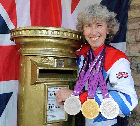 Paralympian Deb Criddle.