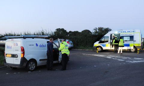 Police appeal near the scene where the body of Catherine Wells-Burr was found