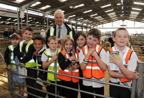North Newton children get up close to rare breeds