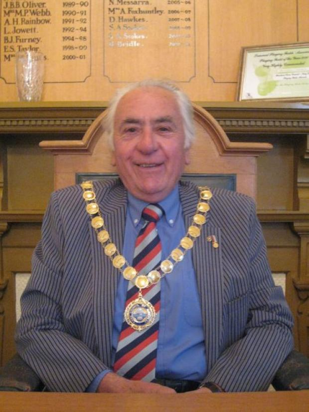 Minehead Mayor, Cllr Tony Berry.