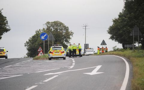 Safety calls after death of young couple on A38