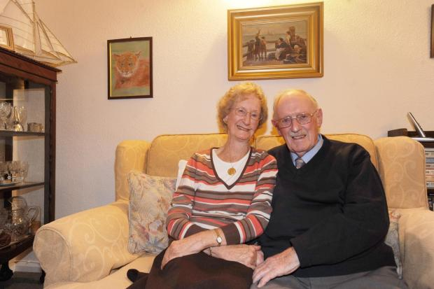 Shortage of men led to 60 years of marriage for Taunton couple