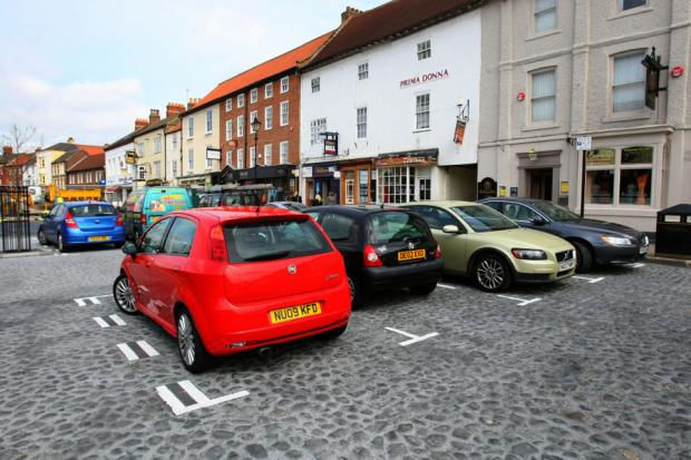 Burnham traders in parking plea