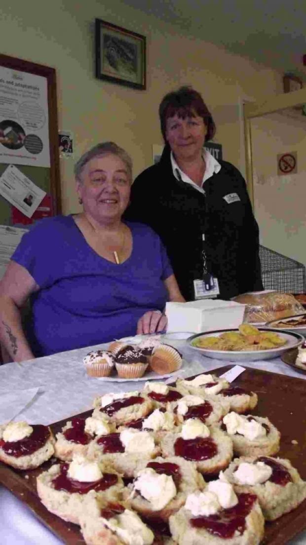 Charity cake bake at Woolavington Community Centre